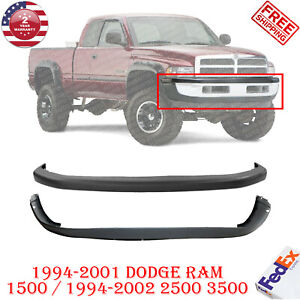 New Front Bumper Cover Valance Combo Kit For 1994 2002 Dodge Ram 1500 2500 3500