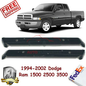 Set Of 2 Front Bumper Outer Mounting Brackets For 1994 02 Dodge Ram 1500 3500