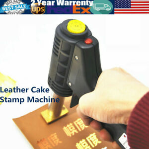 Hot Foil Stamping Machine 110v Handheld Leather Embosser Wood Cake Logo Printer