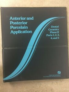 Ptc Anterior And Posterior Porcelain Application Dental Manual 519
