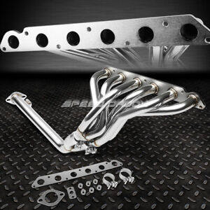 Stainless Tubular Manifold Header Exhaust For 86 92 Toyota Supra 3 0l Non Turbo