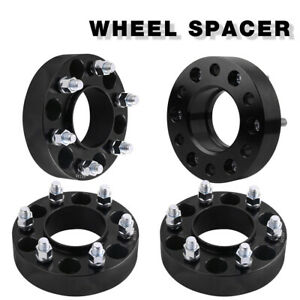 4x 1 5 Hub Centric Wheel Spacers Adapters 6x135 To 6x135 For 07 14 Ford F 150