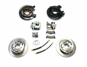 Teraflex Rear Disc Brake Conversion Kit With Cables For 1991 2006 Jeep