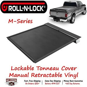 Lg151m Roll N Lock Retractable Tonneau Cover Ford Super Duty 6 9 Bed 2017 2019