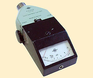 Bruel Kjaer 2205 Sound Level Meter 10 To 10 Db Meter