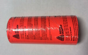 Brand New Genuine Monarch 1110 Fluorescent Red Labels Free Ink Roller