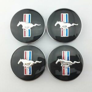 4pcs 68mm 2 67 Inch Running Horse Pony Emblem Wheel Center Hub Cap For Mustang