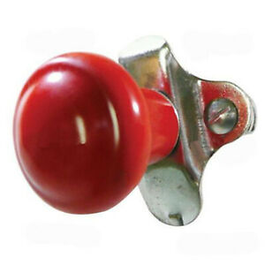 Red Steering Wheel Spinner Knob For Tractor