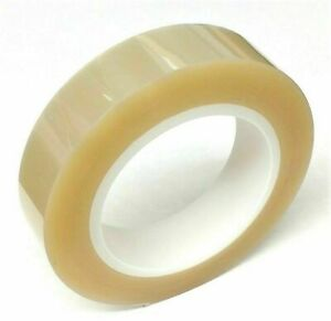 Clear 1 High Temp Polyester Powder Coating Plating Anodizing Masking Tape