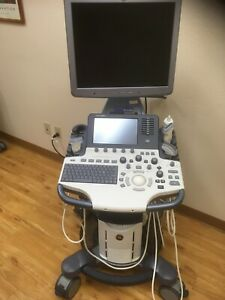 Ge S8 Logiq Diagnostic Ultrasound With 3 Probes