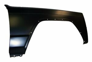 Fits Jeep Cherokee Xj Black Fender Front Right 55235226