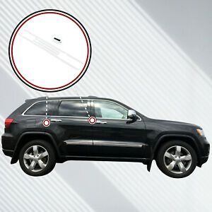 2011 18 Fits Jeep Grand Cherokee 4pc Invisible Door Edge Guards Custom Fit Clear