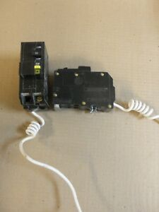 Square D Qo Qo220gfi 2 Pole 20 Amp Ground Fault Circuit Breaker Snap In