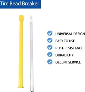 Tire Bead Breaker Slide Hammer Heavy Duty Ram Bar Impact For Car Truck Trailer