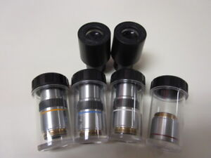 Olympus Objectives For Microscope Binocular Set
