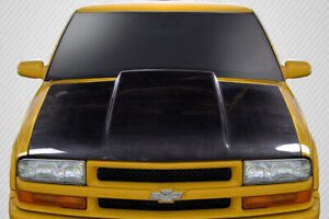 Carbon Creations Cowl Hood Body Kit For 94 04 Chevrolet S 10