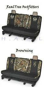 Universal Switch Back Camo Bench Seat Cover Realtree And Browning