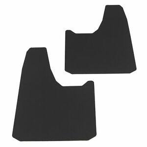 Universal Splash Guards Mud Flaps 2pc For Most Trucks And Suvs 13 X 19