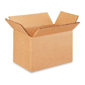 250 6x4x4 Cardboard Paper Boxes Mailing Packing Shipping Box Corrugated Carton