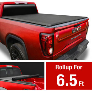 Premium Roll Up Tonneau Cover For 2007 2013 Chevy Silverado Gmc Sierra 6 5 Bed