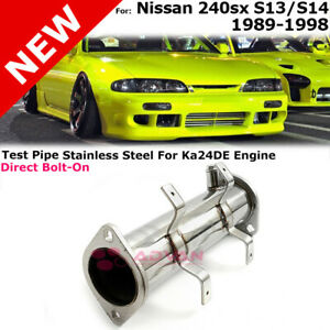 Steel Test Pipe For Nissan 240sx 89 98 S13 S14 Ka24de Engine Racing Competition
