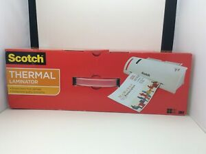 Scotch Thermal Laminator Machine 50 Laminating Pouches 8 5 In X 11 In