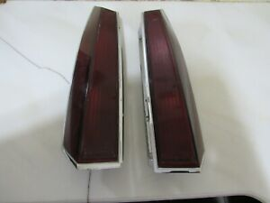 Vintage Pair Of Original 1982 1983 Lincoln Continental Tail Lights