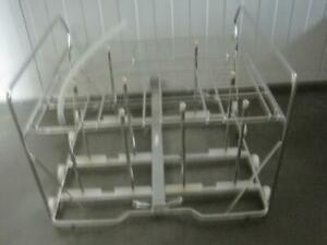 Steris Reliance 200 250 Washer Large Glassware Rack And Support Mb00 0021 Used
