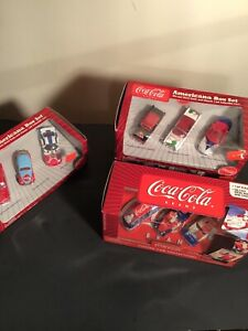JOHNNY LIGHTNING COLLECTIBLES 1:64 COCA COLA BOX 4XSET 2003 Lot Of 12