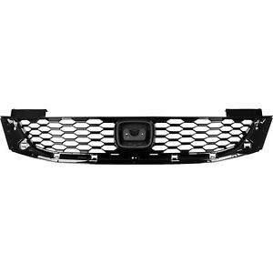 Front Grille Painted Black For Honda Accord Coupe 2013 2015 Ho1200217