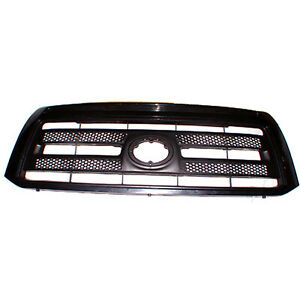 Front Grille Matte Black W Black Frame For Toyota Tundra 2010 2013 To1200336