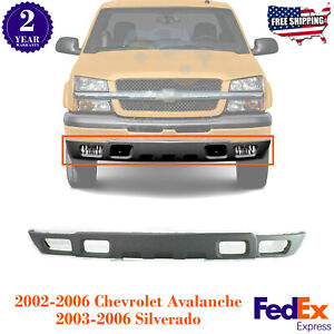 Front Bumper Lower Valance Textured Air Deflector For 2002 2007 Chevy Silverado