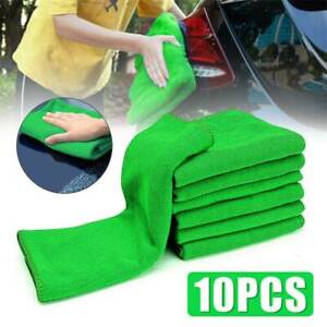 10pcs Multi Use Micro Fiber Auto Car Detailing Cleaning Wash Cloth Towel Duster