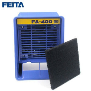 Feita Fa 400 Solder Smoke Absorber With 1pcs Free Activated Carbon Filter Sponge