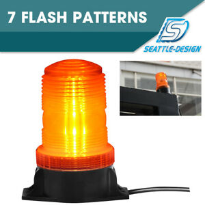 30 Led Amber Yellow 15w Emergency Warning Flashing Safety Strobe Beacon Light