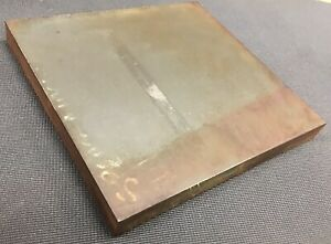 1 Thickness 1018 Cold Finished Steel Plate 1 X 10 X 10 125 Length