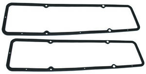 Chevy Sb Performance Steel Core Valve Cover Gaskets 283 327 350 400 1959 86 Sbc
