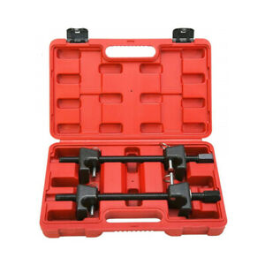 Macpherson Strut Spring Compressor With Safety Pins