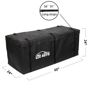 Large Hitch Mount Cargo Carrier Bag Waterproof Travel Luggage Car Truck Suv Van