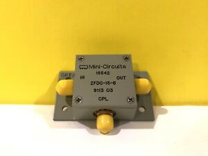 Mini circuits Zfdc 15 6 0 03 35mhz 15 Db Rf Coaxial Directional Coupler New