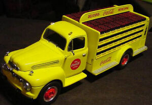1951 FORD COKE COCA-COLA BOTTLE DIECAST TRUCK DIE-CAST FIRST 1ST GEAR 1992 NEW