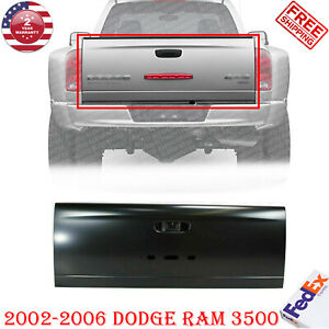 Rear Tailgate Shell Primed For 2002 2006 Dodge Ram 3500 W Dual Rear Wheels