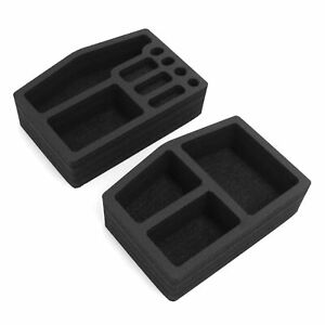 Center Console Organizers 2pc Inserts Washable Fits Honda Odyssey 2018 2020