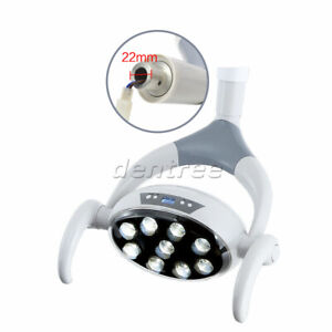 9led Dental Shadowless Oral Light Lamp Cold Light For Dental Unit Chair 22mm