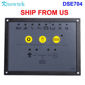 Generator Amf Controller Dse704 For Genset Auto Start Dse 704 Control Panel