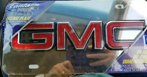 Gmc Fantasy By Pilot 3 D Stainless Steel License Plate