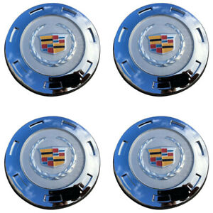 4pcs New 07 14 Cadillac Escalade Colored Replacement Wheel Center Caps 9596649