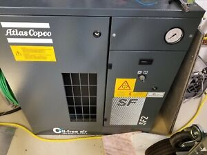 Atlas Copco Sf2 Oil Free Air Compressor