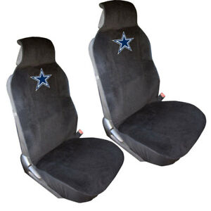 New Nfl Dallas Cowboys Car Truck Suv Van 2 Front Sideless Seat Covers Set