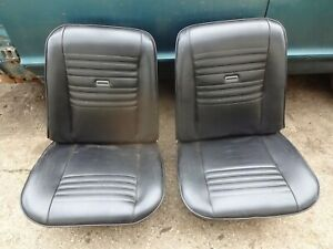 1966 1967 1968 Buick Riviera Gs Gran Sport Front Bucket Seats Recovered Nice